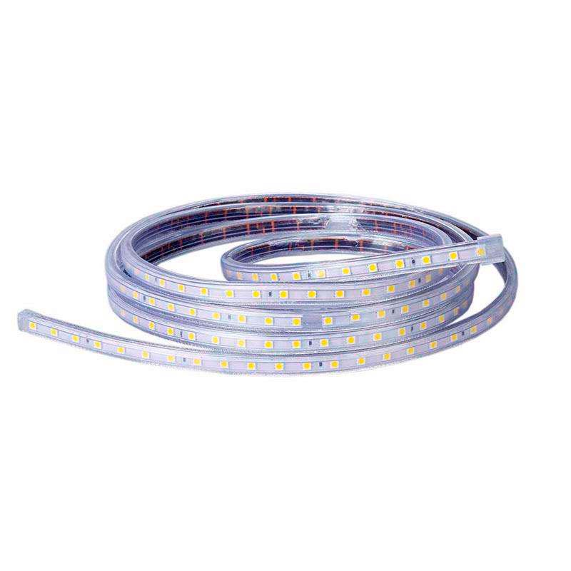 Bande à LED 220V SMD5050 High Power, 1m (60Led/m), Blanc chaud